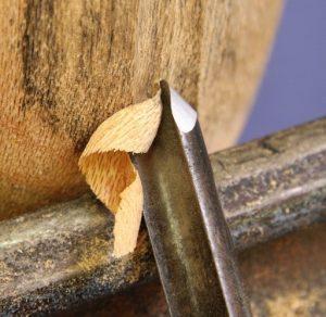 Green wood turning